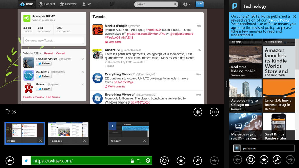 keep getting page cannot be displayed windows 8