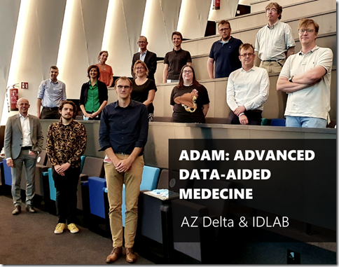 A group photo of the ADAM project team